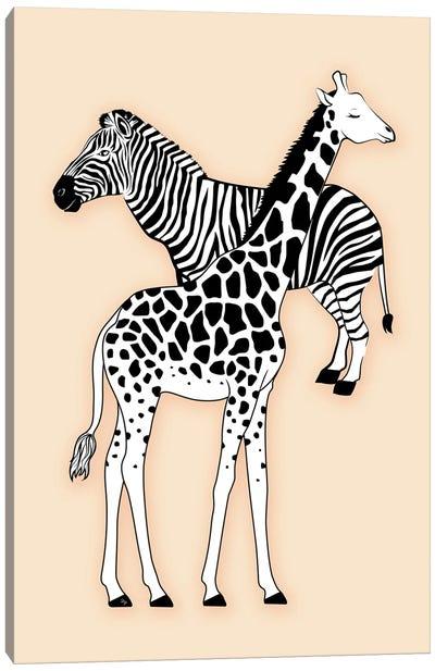 Animal Print Nude Canvas Art Print