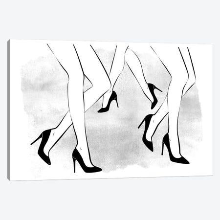 Sexy Walking Canvas Print #PAV665} by Martina Pavlova Canvas Artwork