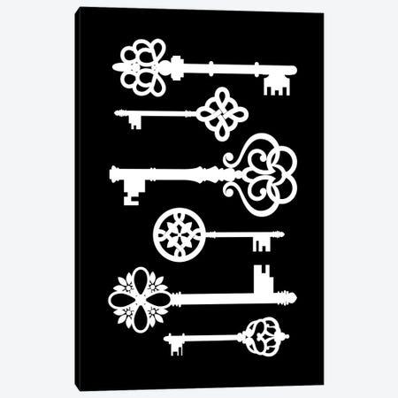 Black Keys Canvas Print #PAV672} by Martina Pavlova Canvas Artwork
