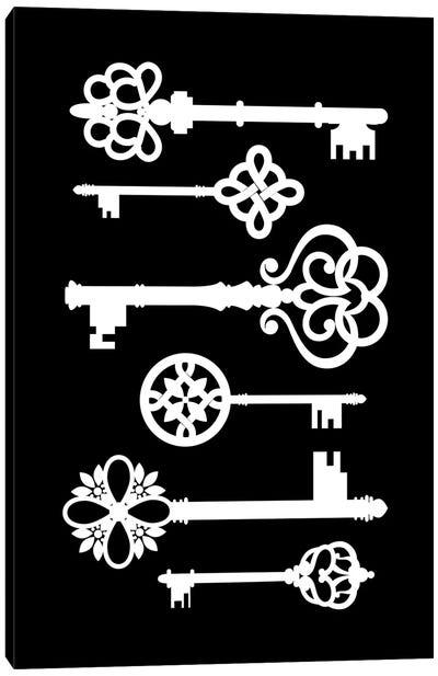 Black Keys Canvas Art Print