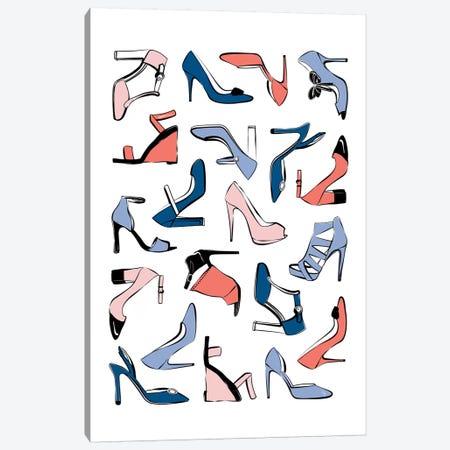 Colorful Shoes Canvas Print #PAV67} by Martina Pavlova Art Print