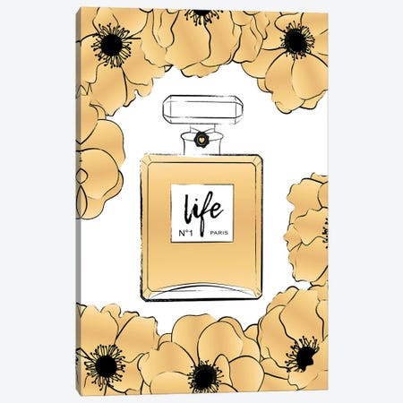 Golden Life Canvas Print #PAV681} by Martina Pavlova Art Print