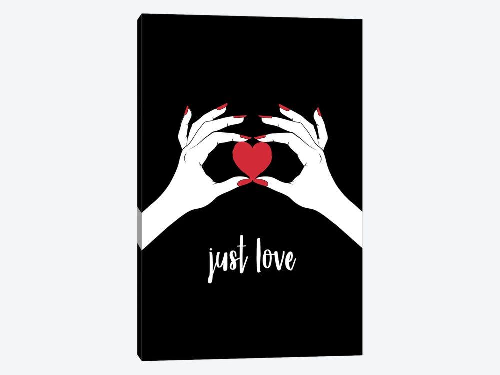This Heart Love by Martina Pavlova 1-piece Canvas Print