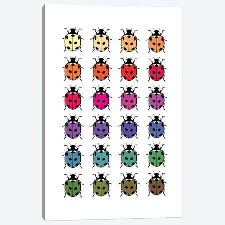 Ladybirds Canvas Print #PAV686} by Martina Pavlova Canvas Wall Art