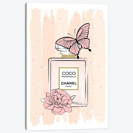 Coco Butterfly Canvas Print #PAV691} by Martina Pavlova Canvas Art