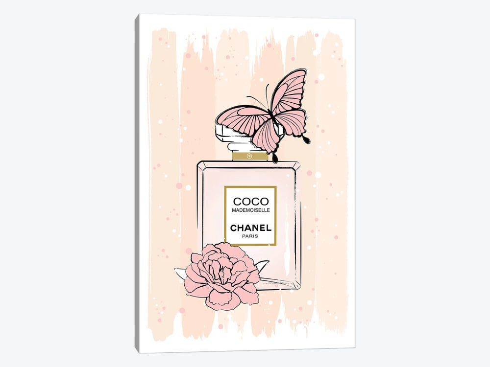 Coco Butterfly by Martina Pavlova 1-piece Canvas Wall Art