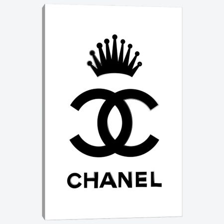 Chanel Queen Canvas Print #PAV695} by Martina Pavlova Canvas Art Print
