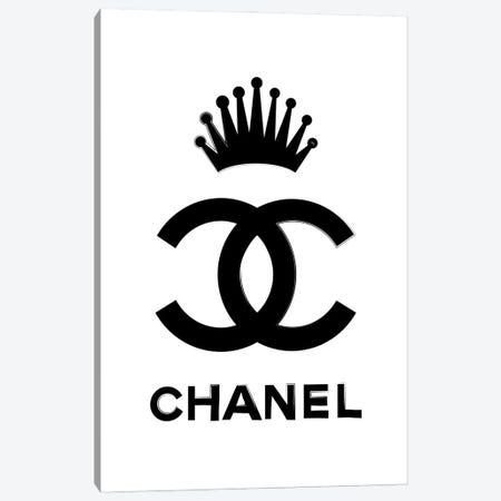 Chanel Queen Canvas Print #PAV695} by Martina Pavlova Canvas Art Print