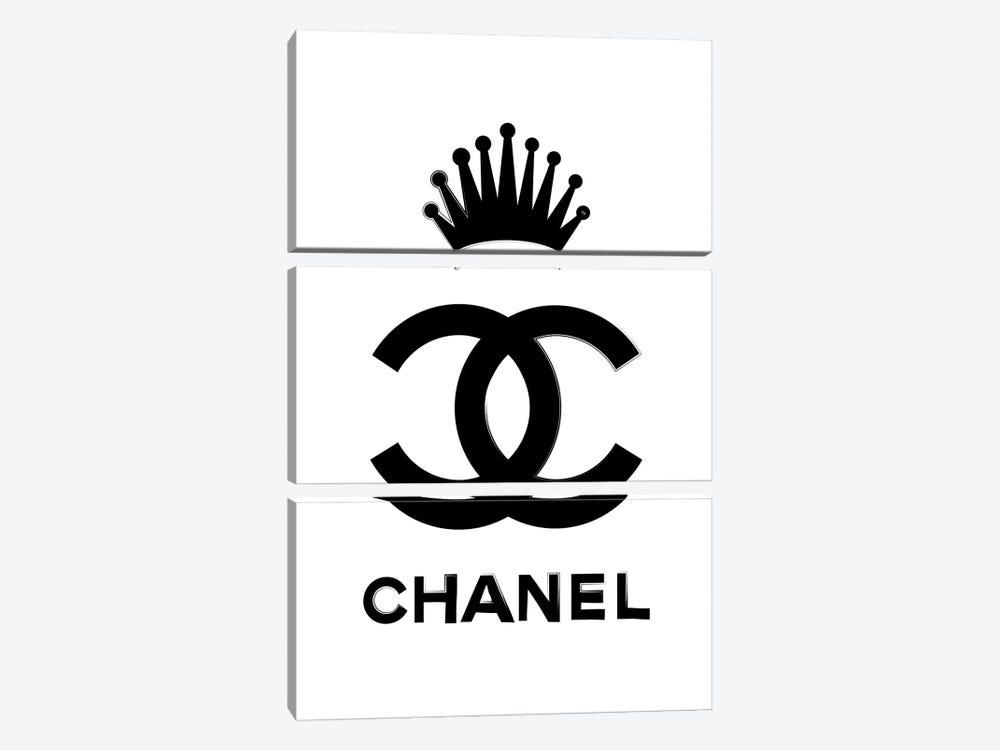 Chanel Queen by Martina Pavlova 3-piece Canvas Artwork