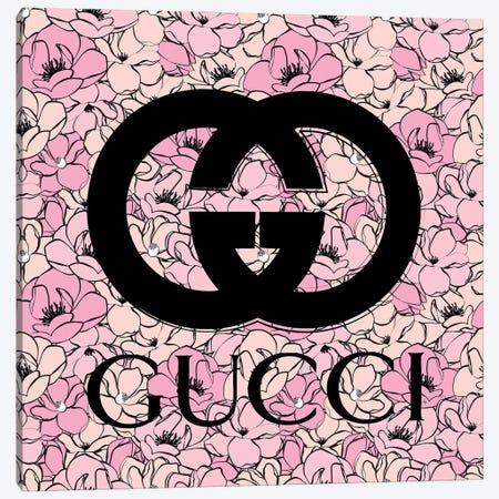 Gucci Florals Canvas Print #PAV697} by Martina Pavlova Canvas Print