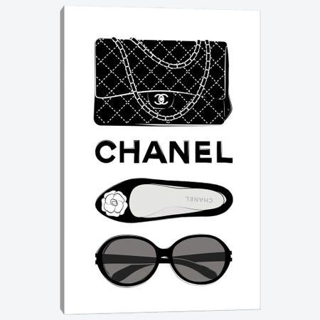 Chanel Elements Canvas Print #PAV700} by Martina Pavlova Canvas Art