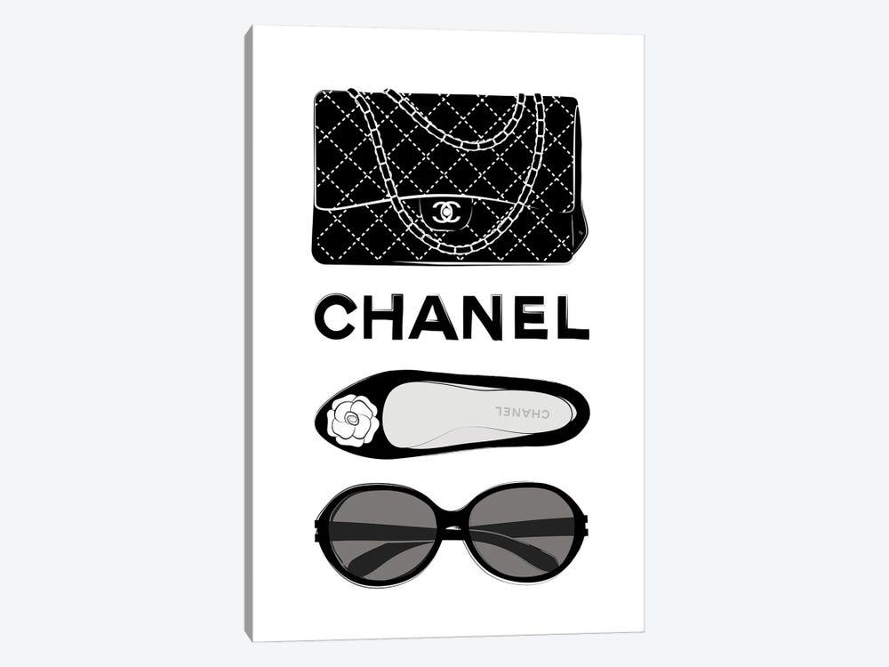 Chanel Elements by Martina Pavlova 1-piece Art Print