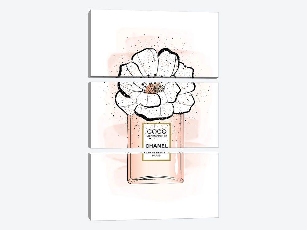 Coco Flower by Martina Pavlova 3-piece Art Print