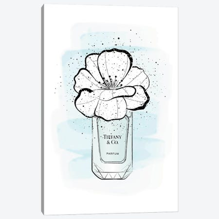 Tiffany's Flower Canvas Print #PAV703} by Martina Pavlova Canvas Art