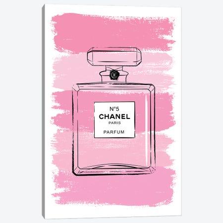 Pink Perfume Canvas Print #PAV706} by Martina Pavlova Canvas Print