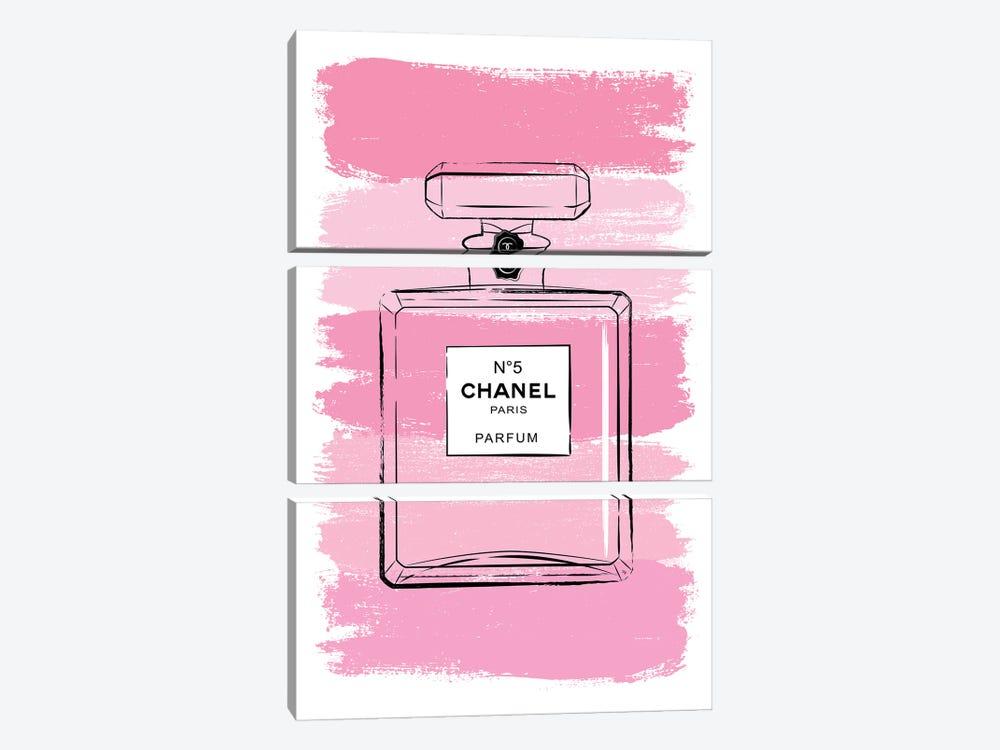 Pink Perfume by Martina Pavlova 3-piece Art Print