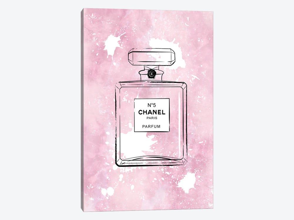 Pink Paint Chanel by Martina Pavlova 1-piece Canvas Print