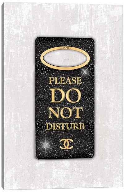 Do Not Disturb Canvas Art Print