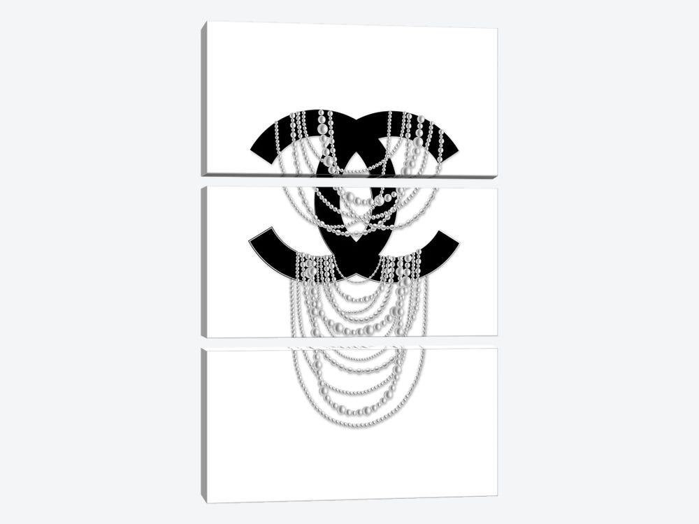 Logo Pearls by Martina Pavlova 3-piece Art Print