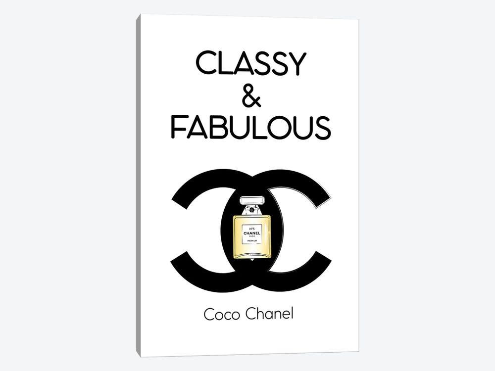 Classy And Fabulous by Martina Pavlova 1-piece Canvas Art