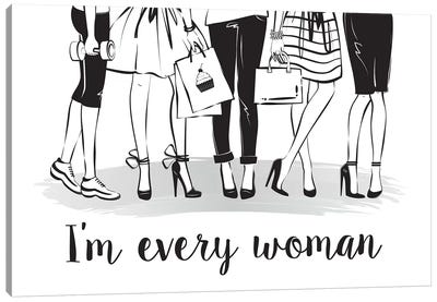 Every Woman Canvas Art Print