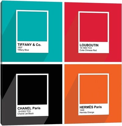 Pantone Brands Canvas Art Print