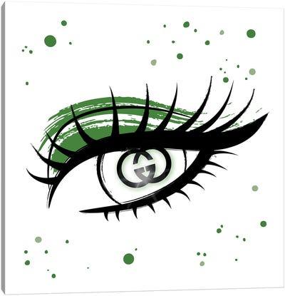 Gucci Eye Canvas Art Print