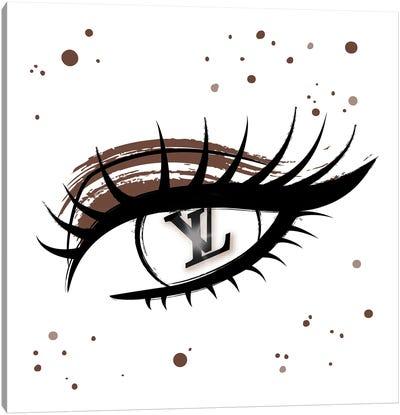 Louis Vuitton Eye Canvas Art Print
