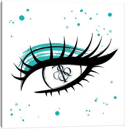 Tiffany & Co. Eye Canvas Art Print
