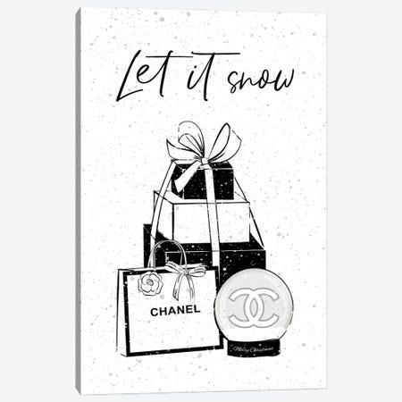 Chanel Winter Canvas Print #PAV744} by Martina Pavlova Art Print