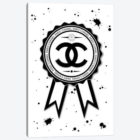 Chanel Badge Canvas Print #PAV747} by Martina Pavlova Canvas Art Print