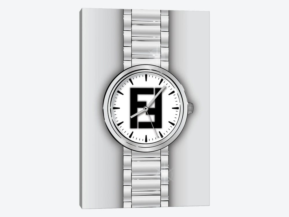 Fendi Watch by Martina Pavlova 1-piece Canvas Art Print