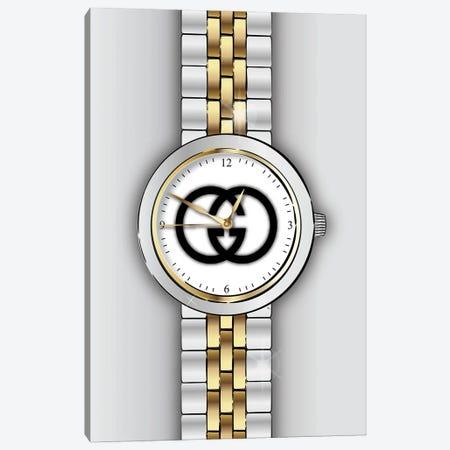 Gucci Watch Canvas Print #PAV756} by Martina Pavlova Canvas Artwork