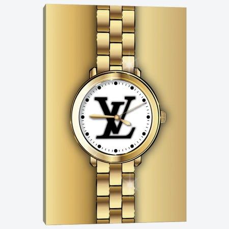 Louis Vuitton Watch Canvas Print #PAV758} by Martina Pavlova Canvas Print