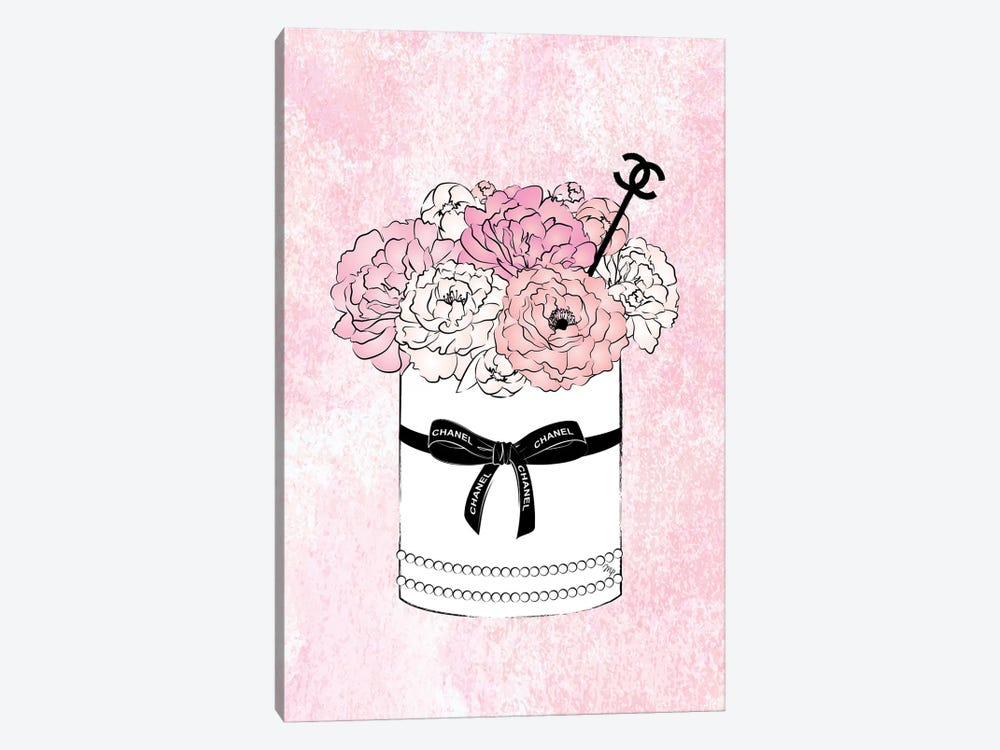Flower Bow Chanel 1-piece Art Print