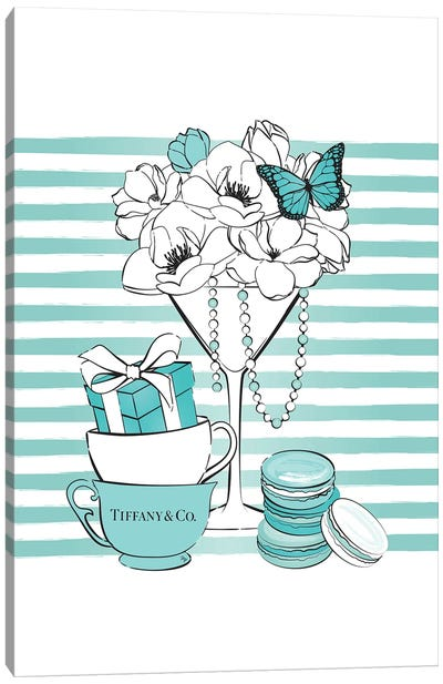 Tiffany's Fiesta Canvas Art Print