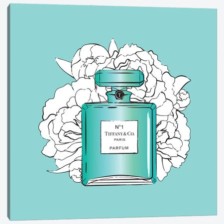 Tiffany's Perfume Setting Canvas Print #PAV763} by Martina Pavlova Canvas Artwork