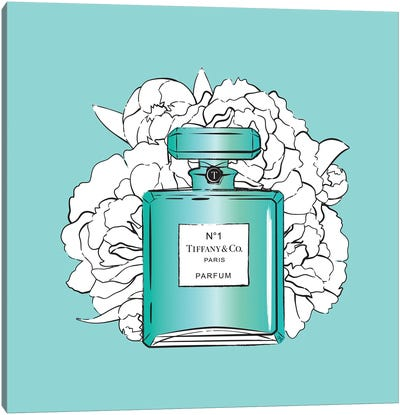 Tiffany's Perfume Setting Canvas Art Print