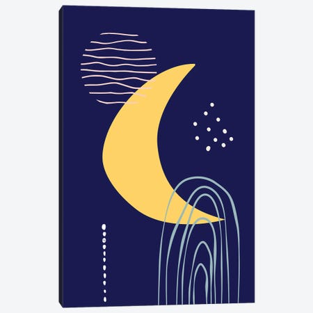 Midnight Canvas Print #PAV769} by Martina Pavlova Canvas Artwork