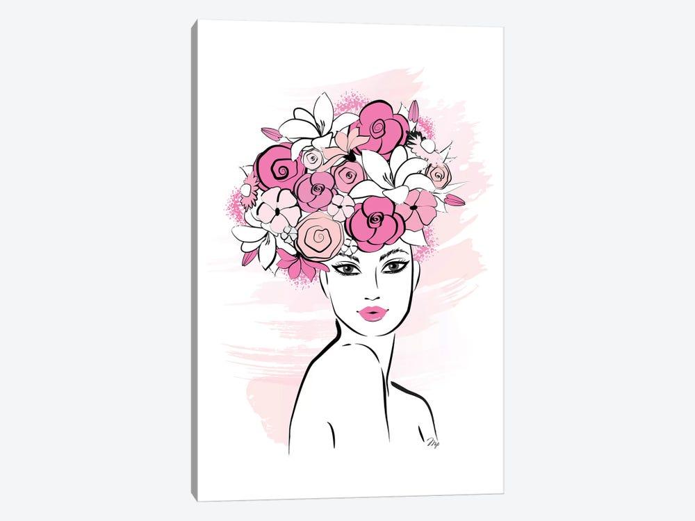 Flower Girl by Martina Pavlova 1-piece Canvas Wall Art