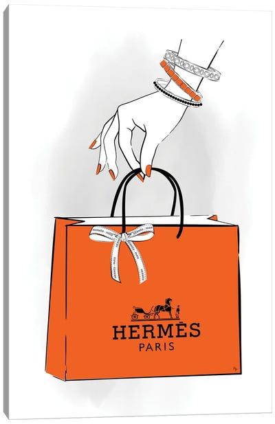 Hermes Hand Canvas Art Print