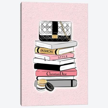 Dior Book Stock Canvas Print #PAV795} by Martina Pavlova Canvas Artwork