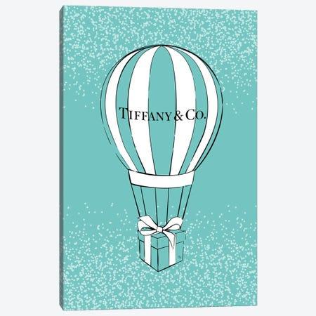 Tiffany's Air Balloon Canvas Print #PAV798} by Martina Pavlova Canvas Art Print