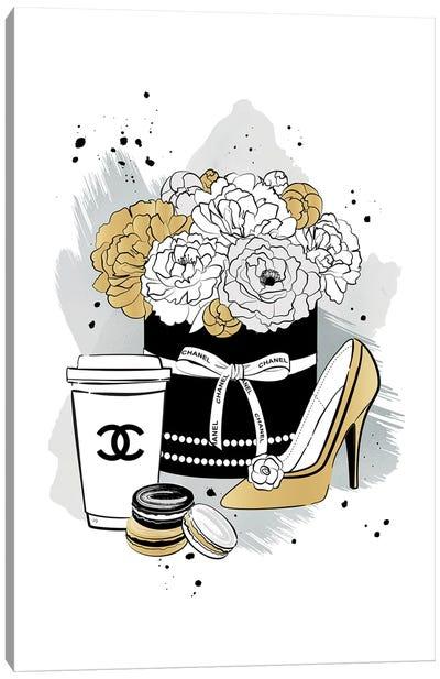 Chanel Romance Canvas Art Print