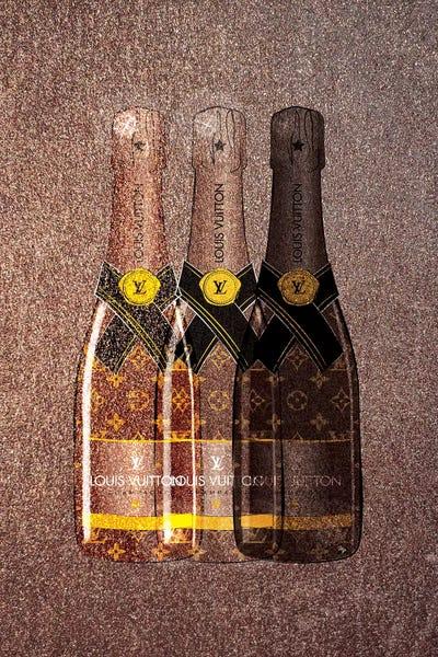 ed7e6306dc3e LV Champagne I Canvas Wall Art by Martina Pavlova