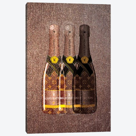 LV Champagne I Canvas Print #PAV88} by Martina Pavlova Canvas Artwork