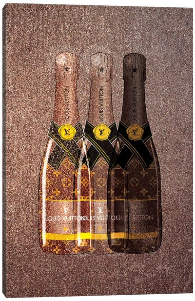 LV Champagne I Canvas Art Print
