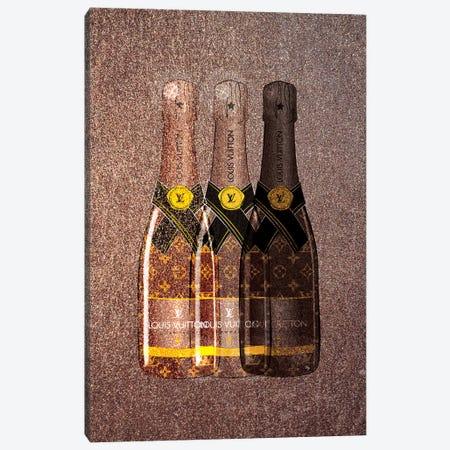 LV Champagne I Canvas Print #PAV88} by Martina Pavlova Canvas Artwork