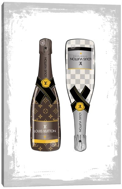 LV Champagne II Canvas Art Print