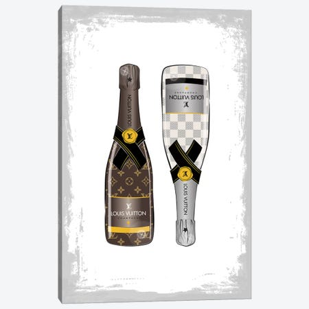 LV Champagne II Canvas Print #PAV89} by Martina Pavlova Canvas Art